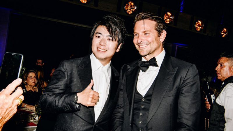 Lang Lang, Bradley Cooper and Alec Baldwin at New York Philharmonic